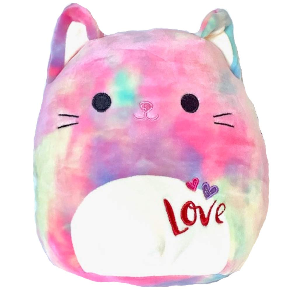 Kelly Toy Squishmallows Cat Rainbow - Corbata de Peluche con ...