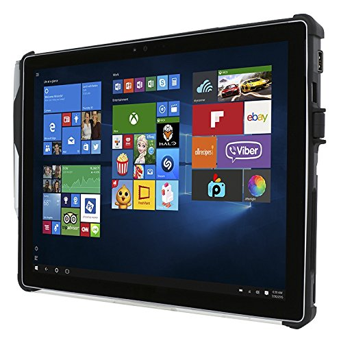 microsoft surface pro 4 case incipio card reader protective security case for surface pro 4. Black Bedroom Furniture Sets. Home Design Ideas