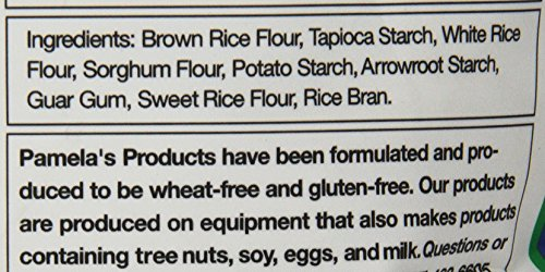 Pamela's Products Gluten Free All Purpose Flour Blend, 4 Pound by Pamela's Products (Image #2)
