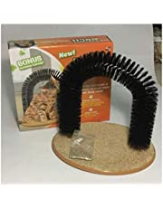 Cat toy scratching itch brush, pet cat tunnel