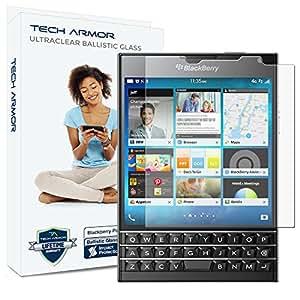 Tech Armor - Protector de pantalla para Passport de BlackBerry - Cristal blindado