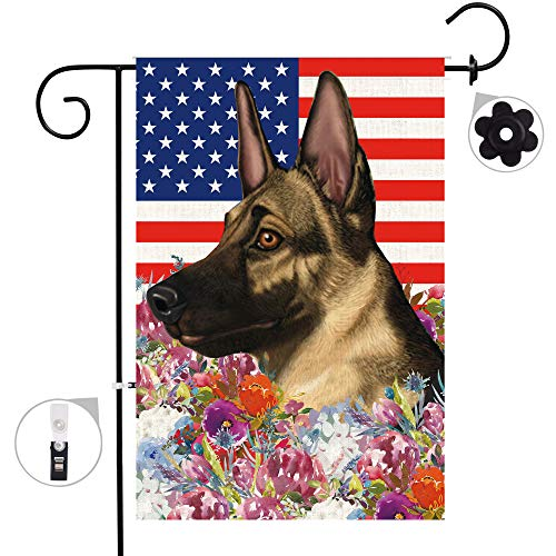 German Shepherd Garden Flag - 3