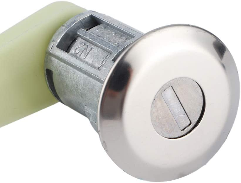 Cilindro serratura porta coppia di kit cilindro serratura porta con chiave 7701468981 Adatto per Megane I Scenic I Clio II Thalia