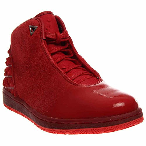 Jordan Nike Light Sportive 1 Air Red Crimson Scarpe Retro Uomo High Gym 115rqw