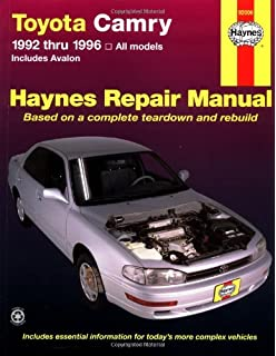 Toyota camry 1983 96 repair manual chiltons total car care dawn toyota camry automotive repair manual all toyota camry and avalon models 1992 thru 1996 fandeluxe Images