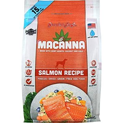 Grandma Lucy's Macanna Dog Food, Grain Free and Freeze-Dried