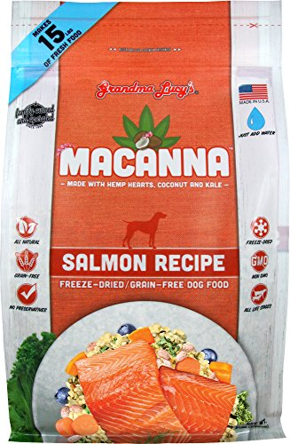 - Grandma Lucy's - Macanna Salmon Dog Food - 3Lb