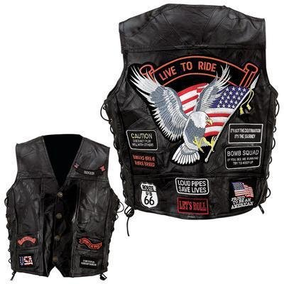 diamond-plate-rock-design-genuine-buffalo-leather-vest-s