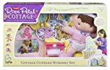: Playskool Rose Petal Cottage Cuddles Nursery Set