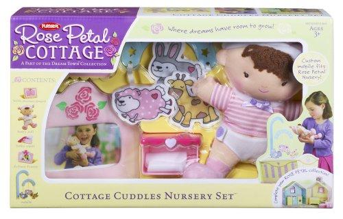 Petal Accessories Rose Cottage (Playskool Rose Petal Cottage Cuddles Nursery Set)
