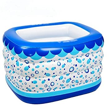 Swimming Pool, aufblasbar, Badewanne, Wanne, Badewanne: Amazon.de ...