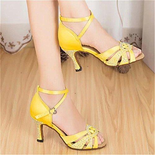Monie Mujer Yellow Salón Monie 6cm Mujer Salón Pzw76qxn
