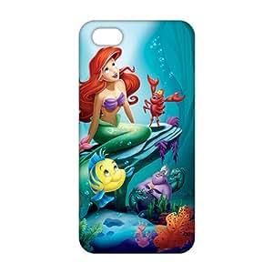 Evil-Store Cartoon mermaid 3D Phone Case for iPhone 5s wangjiang maoyi