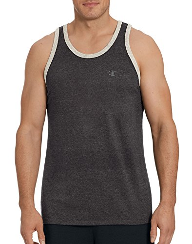 champion-mens-classic-jersey-ringer-tank-top-granite-heather-oxford-gray-heather-xl