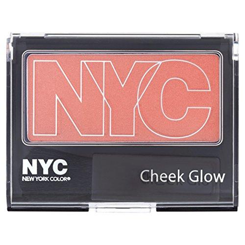 Color Cheek Blush - N.Y.C. New York Color Cheek Glow Blush, Nolita Pink, 0.28 Ounce