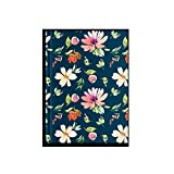 Pierre Belvedere Large Notebook: Flowers (7710870)