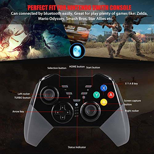 Maexus Switch Controller Wireless Switch Pro Controller