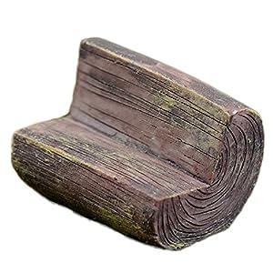 Da.WA mini Fairy Garden Park sedia divano Bench Model Home Decoration Outdoor Decor 2 spesavip