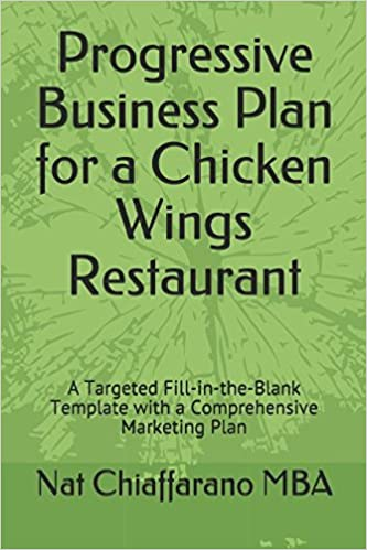 Amazon Com Progressive Business Plan For A Chicken Wings