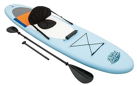 Bestway Lola Derek Coast Liner Lite - Juego de Sup y Kayak, Tabla de Surf de Remo Hinchable, 320 x 81 x 12 cm