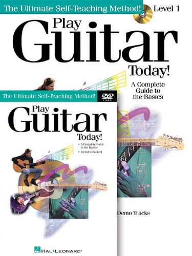 Dvd Learning Center - Play Guitar Today! Beginner's Pack: Book/CD/DVD Pack (Ultimate Self-Teaching Method!)