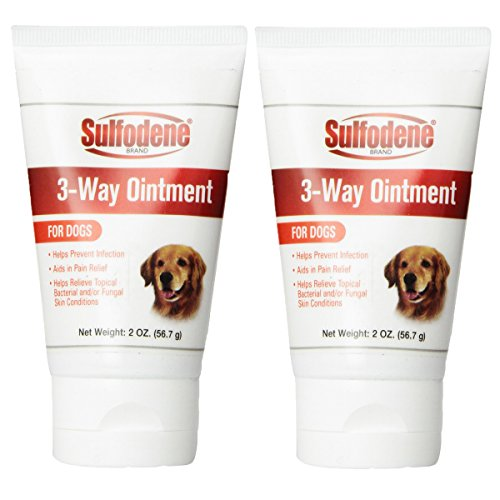 (Sulfodene 3-Way Ointment for Dogs (2-Pack, 4oz))