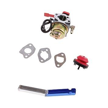 Sharplace Kit de Carburador con Herramienta de Limpieza para ATV Moto Cortadora de Césped: Amazon.es: Coche y moto