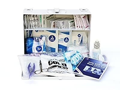 Medique 818M25P 25-Person Metal First Aid Kit from Medique Products