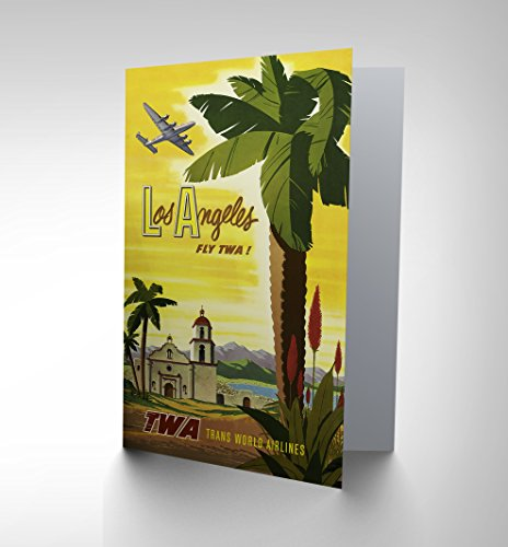 new-travel-twa-airline-los-angeles-california-palm-usa-greetings-card-cp1364