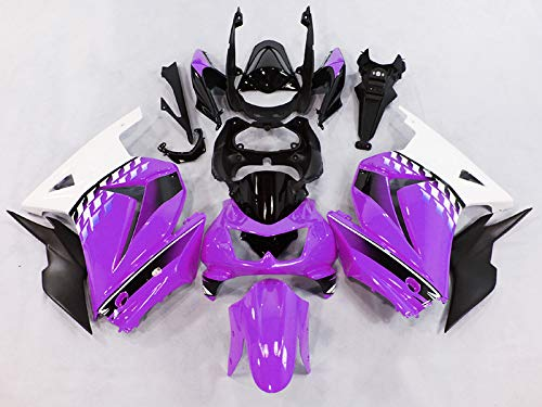 Amazon.com: Moto Onfire Fairings for Kawasaki Ninja 250R ...