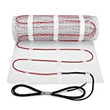 30 sqft SENPHUS 120V Electric Radiant Floor Heating System Under Tile Cable Self-adhesive Mat