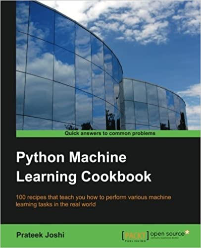Python Machine Learning Cookbook by Prateek Joshi (2016-09-06)