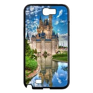 Custom Castle Design Plastic Case for Samsung Galaxy Note 2