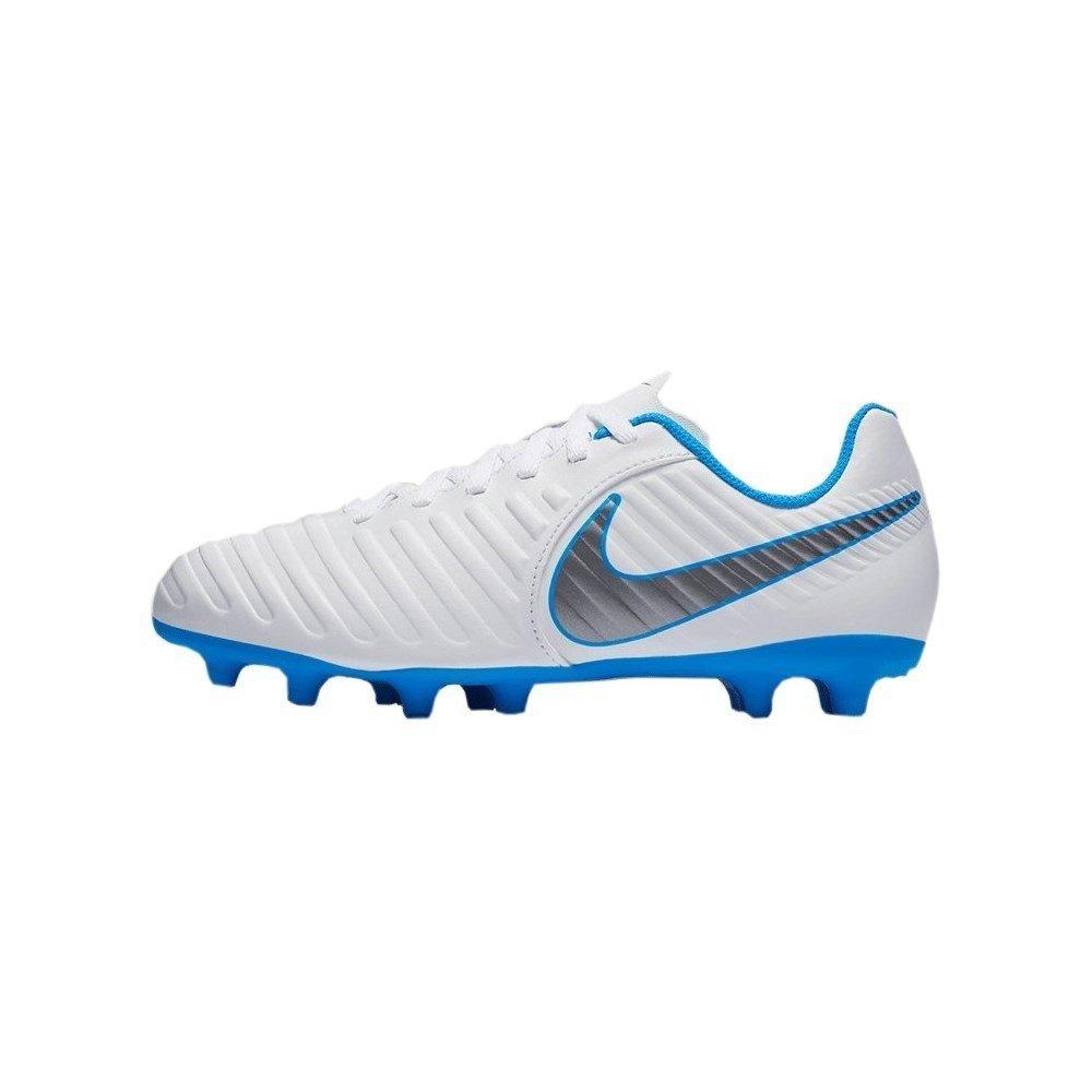 Nike Unisex-Kinder Tiempo Legend 7 Club FG JR AH7255 107 Fußballschuhe, Mehrfarbig (Indigo 001), 33 EU