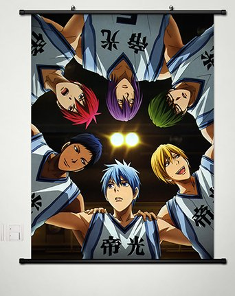 Wall Scroll Poster Fabric Painting For Anime Kuroko no Basket Key Roles 068 L