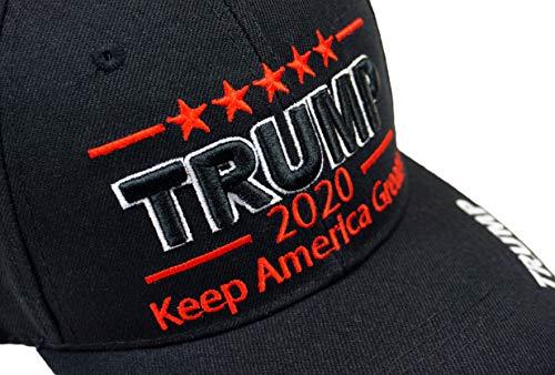 Bingoo Trump 2020 Keep America Great Embroidery Campaign Hat USA Baseball  Cap 99faade4adfc
