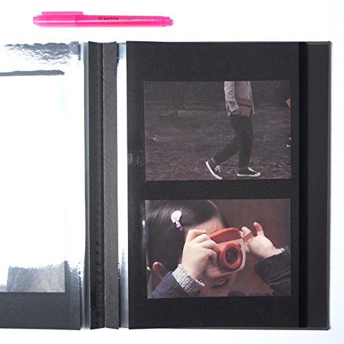 Photograph Self-adhesive Album with AHZOA H1 Highlighter (gray) by AHZOA / monopoly (Image #6)