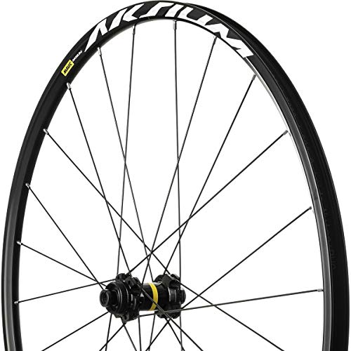 Mavic Aksium Disc Wheel Black, Front, 12x100, CL