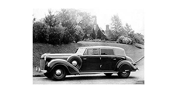4 Door Convertible >> Amazon Com 1937 Chrysler Imperial 4 Door Convertible Sedan