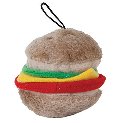 - Aspen Pet Products Bite Hamburger Soft Toy, Medium