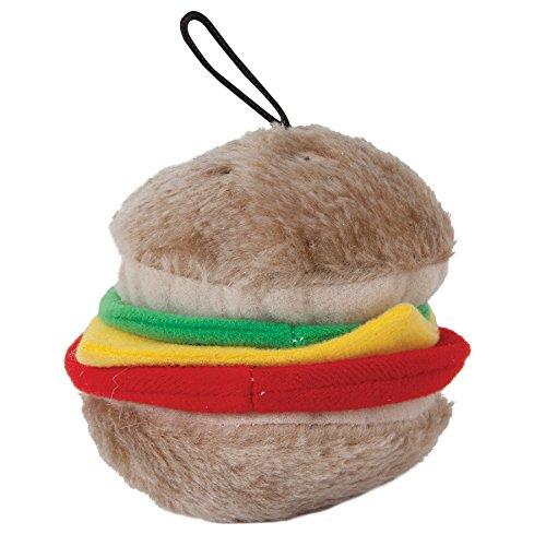 ite Hamburger Soft Toy, Medium (Burger Dog Toy)
