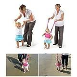 Hivel Handheld Asistente de Caminar Bebe Baby Walker Toddler Walking Assistant Nino del Bebe Aprenda a Caminar Cinturon Andador Asistente Arnes de Seguridad (Dark Blue)