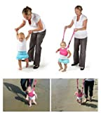 XuanMax Handheld Baby Walker Toddler Walking Assistant Protective Learning Assistant Belt Learning Walk Safety Carry Harness - Pink