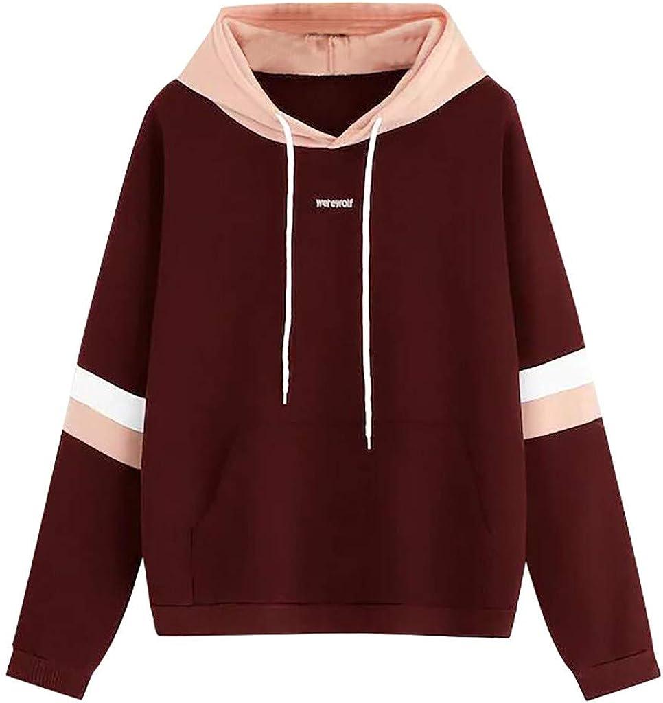Womens Plaid Hoodie Sweatshirt Ladies Hooded Sweater Tops Jumper Pullover UK6-18