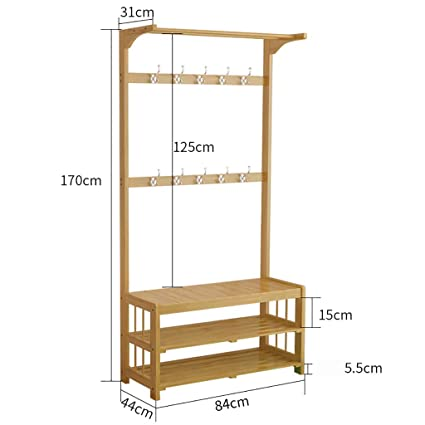 Amazon.com: Panet Coat Rack Entrance Hall Coat Rack Free ...