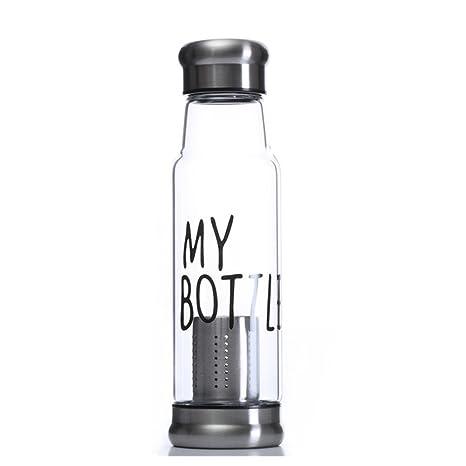 550 ml botella de agua de vidrio de borosilicato NYKKOLA ...