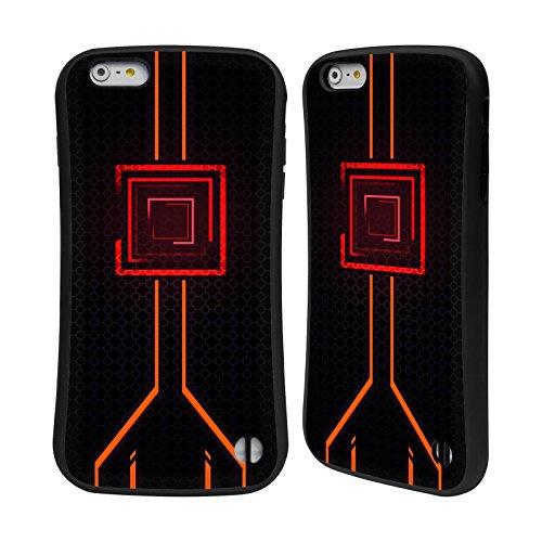 Official Alyn Spiller Orange Neon Hybrid Case for iPhone 6 Plus/iPhone 6s - 6 Neon Case Orange Iphone Plus