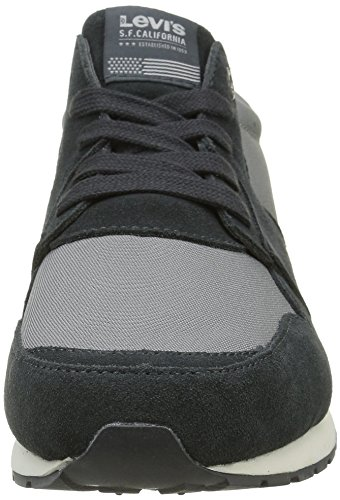 Dull Runner Basses 58 Grey NY Gris Levi's Baskets Tab Homme 051q7Ap