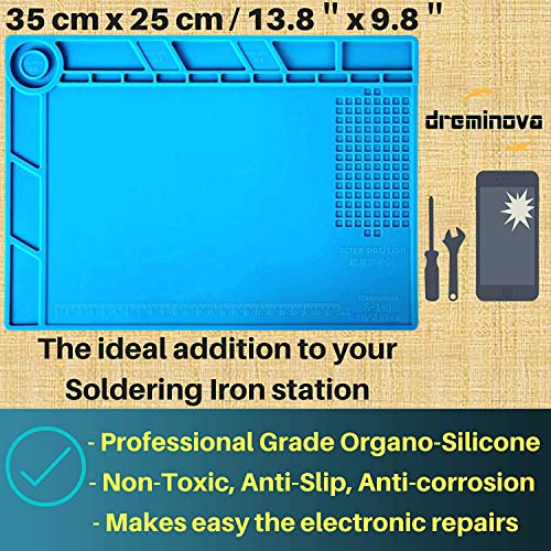 YESCOO Heat Insulation Silicone Mat FREE SHIPPING USA Size: 13.8 x 9.8 inch