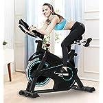 HLEZ-Bici-da-Spinning-Professionale-Spin-Bike-con-Monitor-LCD-Cyclette-da-Allenamento-da-Spinning-da-Casa-13-kg-Volano-di-Inerzia-con-Supporto-per-Computer